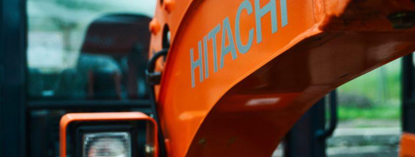 SKF Lincoln sentralsmøring for Hitachi maskiner fra Norsecraft Tec AS