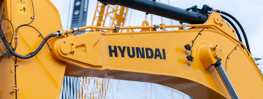 SKF Lincoln sentralsmøring for Hyundai maskiner fra Norsecraft Tec AS