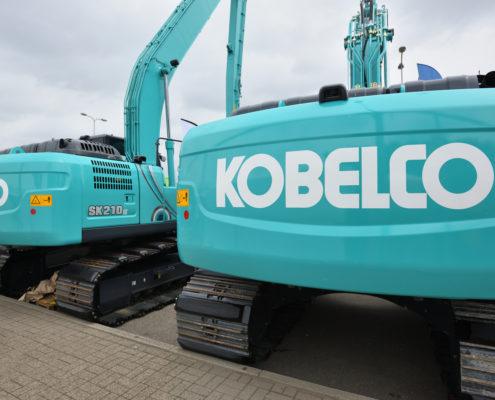 SKF Lincoln sentralsmøring for Kobelco maskiner fra Norsecraft Tec AS