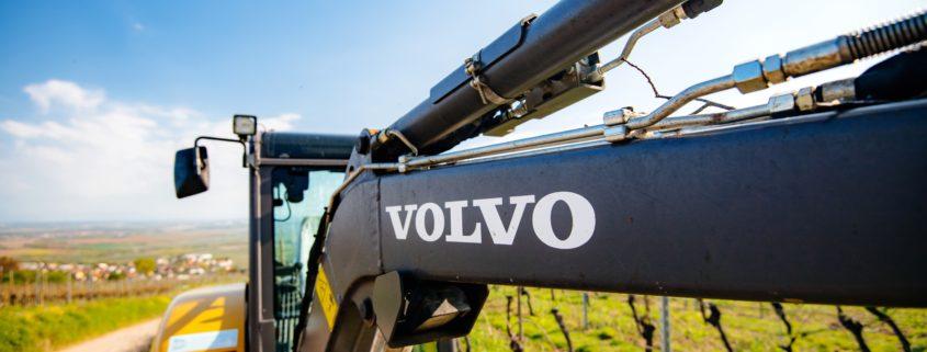 Sentralsmøring Volvo anleggsmaskiner fra Norsecraft Tec AS.